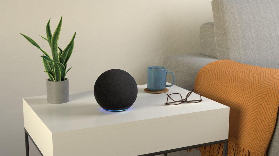 Die schicke Kugel-Form gibt dem neuen Amazon Echo auch mehr Raum für Klang
