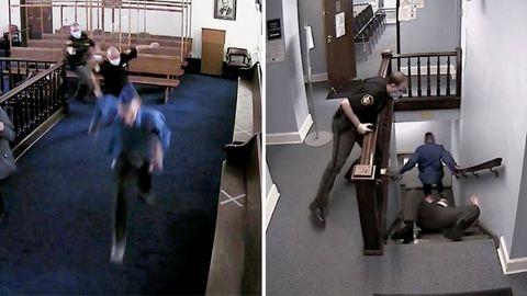 Angeklagter fliegt aus Gerichtssaal