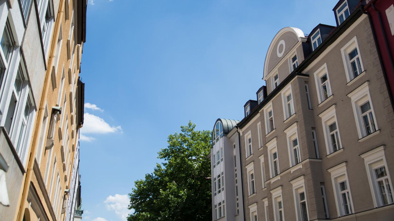 Häuser in München-Schwabing