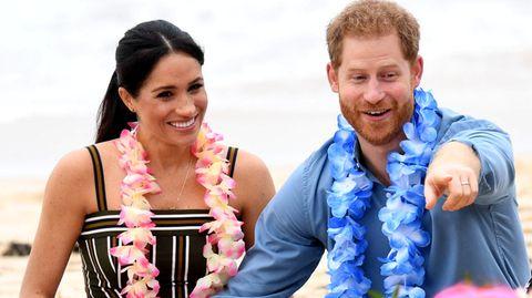 Auf dem Königsweg: Halbzeit bei Meghan und Harry: Warum jetzt Donald Trump gegen die Ex-Royals schießt