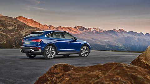 Der Audi Q5 Sportback ist sieben Millimeter länger als der Q5
