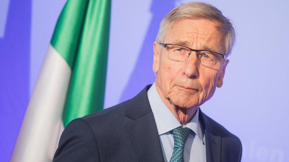 Wolfgang Clement, ehemaliger Bundesminister für Wirtschaft und Arbeit und ehemaliger Ministerpräsident von Nordrhein-Westfalen