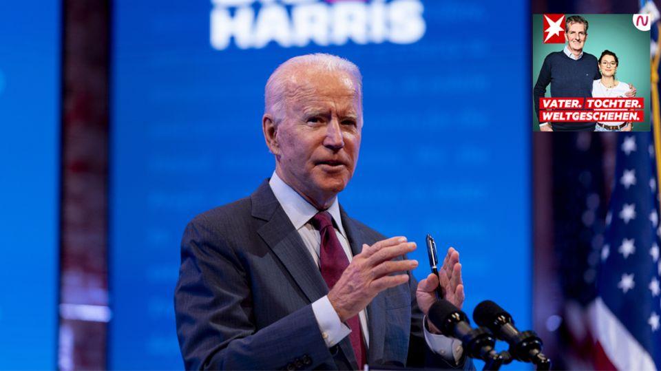 Donald Trumps Gegner Joe Biden