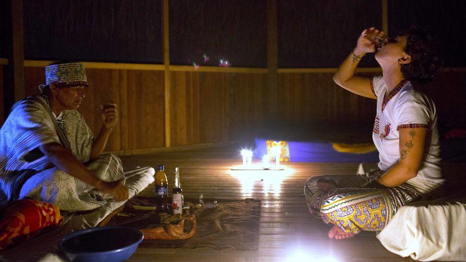 Diskussion um halluzigene Droge: Was passiert, wenn man Ayahuasca trinkt? Unser Reporter hat es in Peru ausprobiert