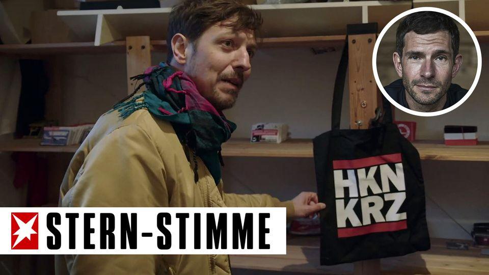 "ReporterThilo Mischke in der ProSieben-Doku ""Rechts. Deutsch. Radikal."""