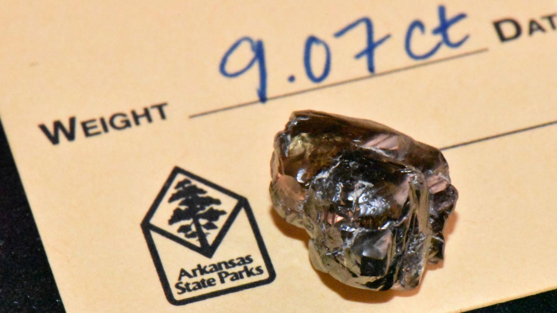9.07 Karat: Die offizielle Fund-Karte des Diamanten