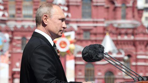Wladimir Putin ist von einem Getreuen für den Friedensnobelpreis nominiert worden