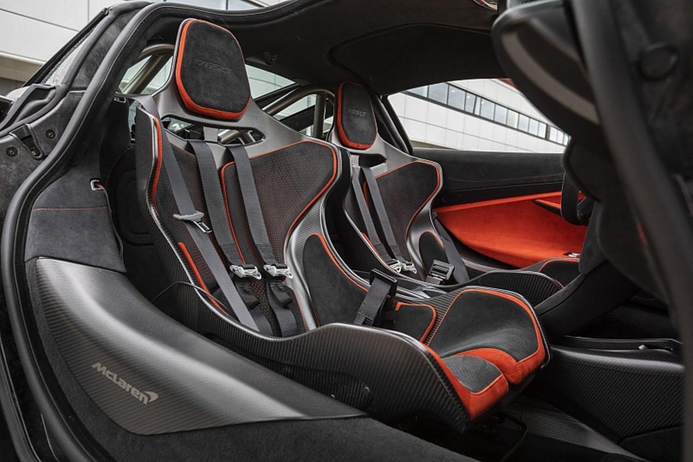 Die Sitzschalen sind insgesamt 18 Kilogramm leichter als beim 720S