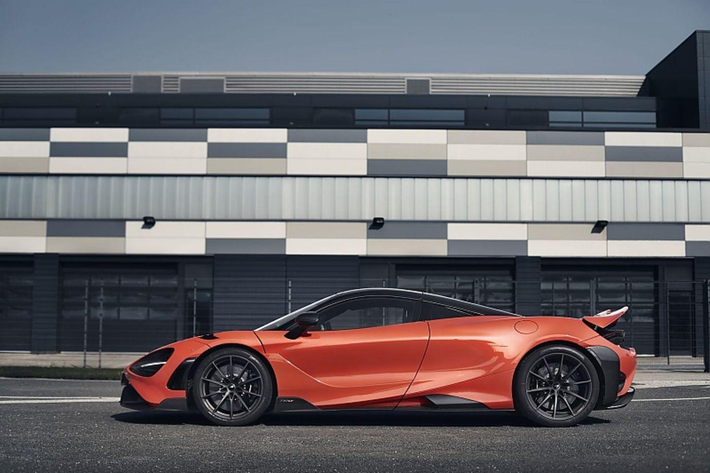 Der McLaren 765LT ist 4,60 Meter lang