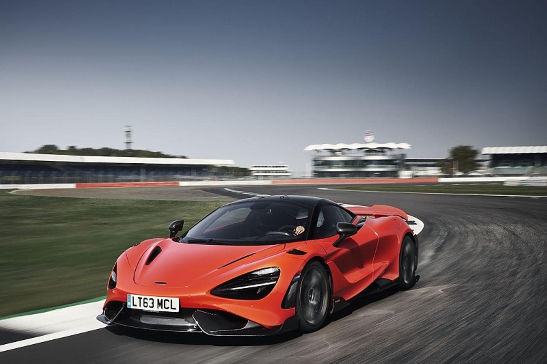 Bei Bedarf steht der McLaren 765LT aus Tempo 200 km/h nach 108 km/h
