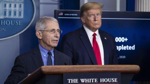 """US-Wahlkampf: Trumps Corona-Berater Anthony Fauci: """"Ich halte mich an die Wissenschaft. Egal was die Politik sagt"""""""