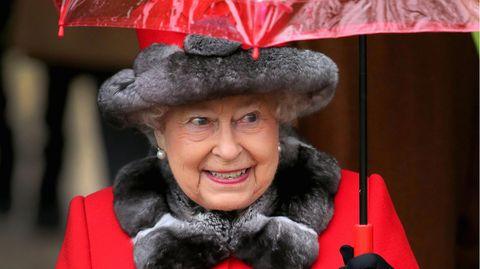 Die Queen beim Weihnachtsgottesdienst in Sandringham
