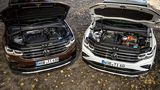 Vergleich VW Tiguan eHybrid - VW Tiguan 2.0 TDI