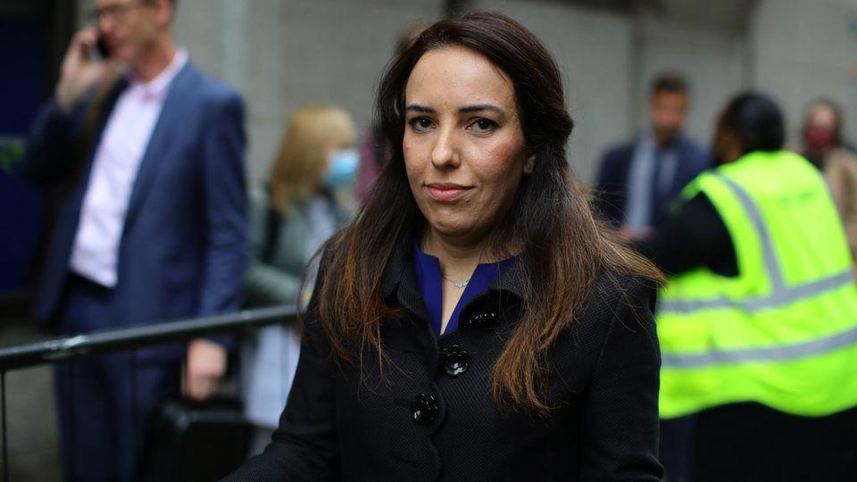 """Auslieferungsverfahren: Stella Moris ist die Verlobte von Julian Assange. Sie sagt: """"Verliert er, verlieren wir alle"""""""