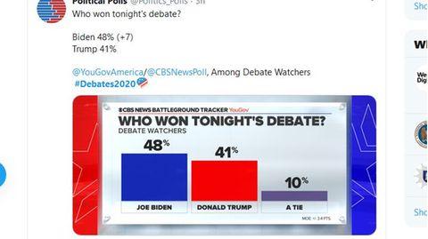Wer hat das ZV-Duell gewonnen? Auf Twitter wurden Umfragen veröffentlicht