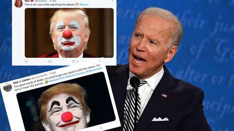 """""""Clown""""-Steilvorlage auf Twitter"""