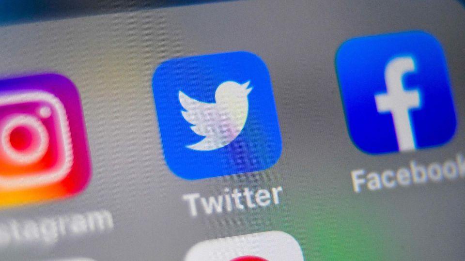 Das App-Symbol des Kurznachrichtendienstes Twitter