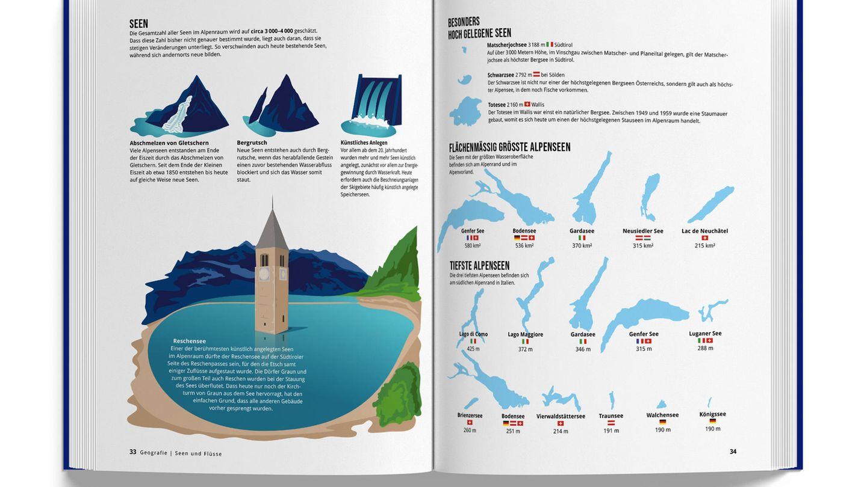 Bild 1 von 10 der Fotostrecke zum Klicken  Die Gesamtzahl der Seen im Alpenraum wird auf bis 4000 geschätzt. Die drei tiefsten Alpenseen befinden sich am südlichen Alpenrand in Italien.