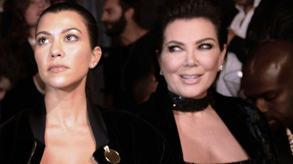 Kourtney Kardashian und Kris Jenner