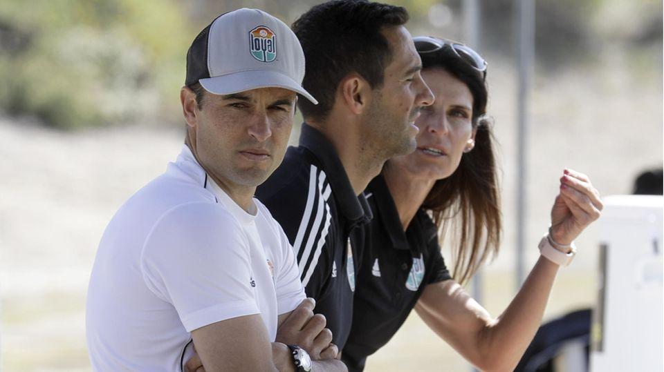San Diego Loyal: Landon Donovan auf der Trainerbank seines Klubs in den USA