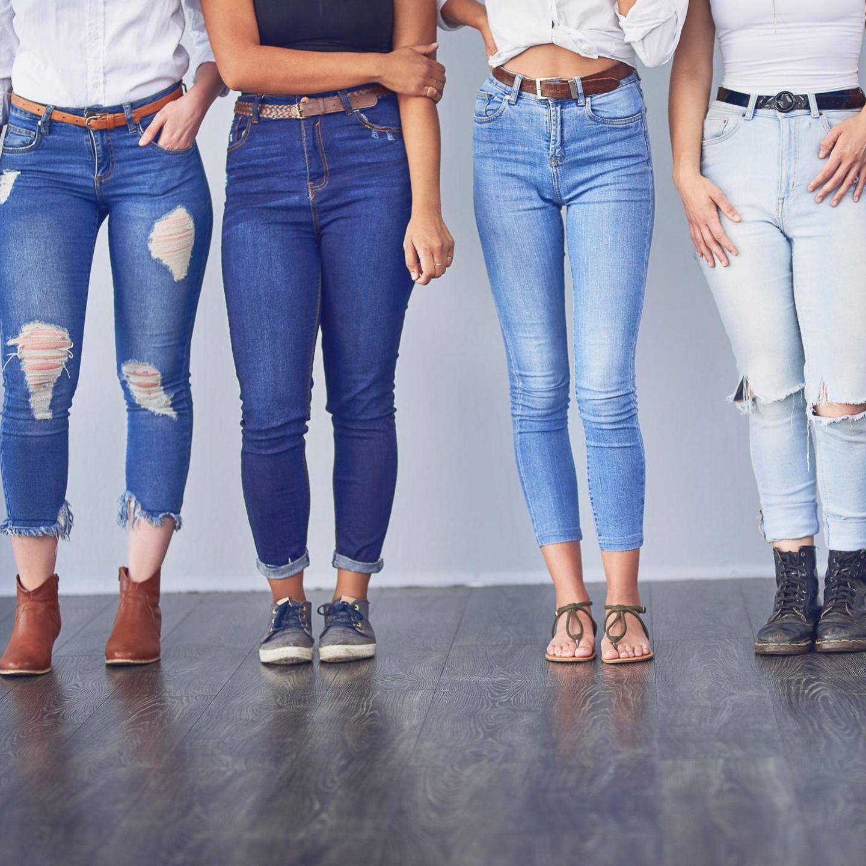 cropped jeans: darum setzen kurze hosen trends | stern.de