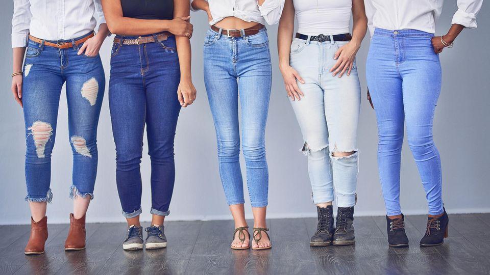 Cropped Jeans sind der neue Modetrend