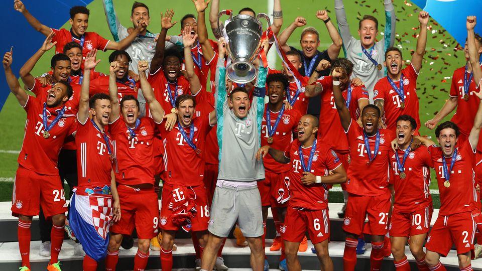 Die Bayern gehen als Titelverteidiger in die neue Champions-League-Saison