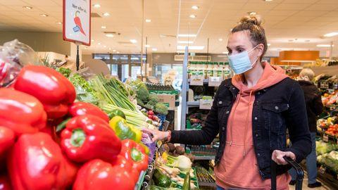 Obst und Gemüse sind Standard auf den Einkaufszetteln