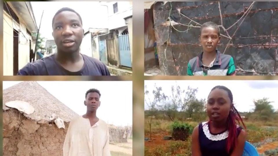 Hört uns zu! Wie vier Kinder in vier Staaten den Klimawandel erleben