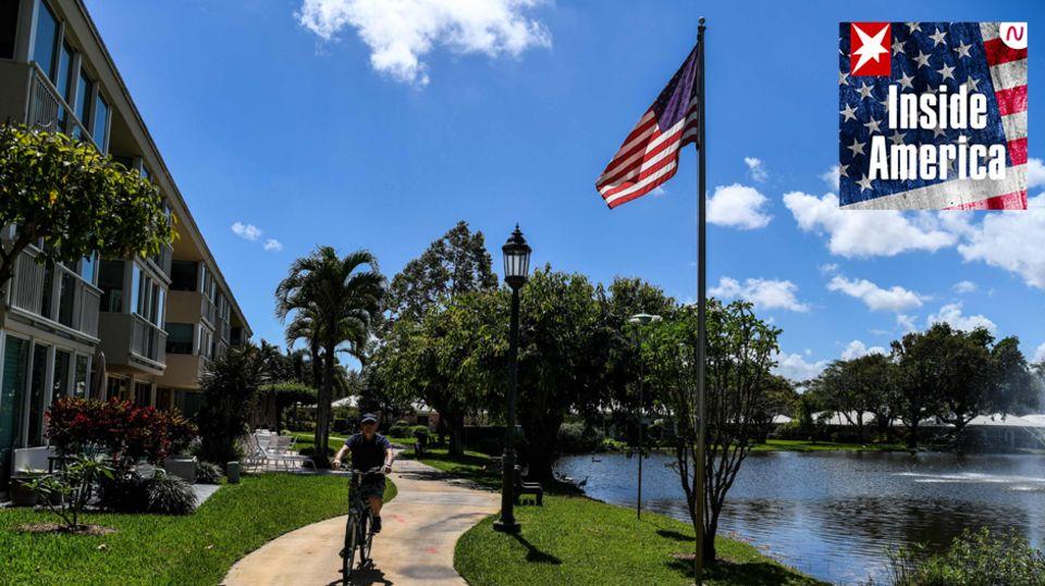 Eine Rentersiedlung in Florida
