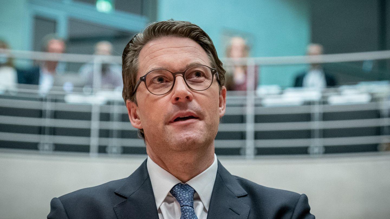 Andreas Scheuer (CSU), Bundesminister für Verkehr und digitale Infrastruktur