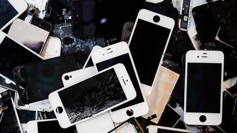 Mehr als 500.000 defekte Geräte lieferte Apple an den Recycling-Dienstleister (Symbolbild)