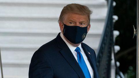 Donald Trump muss wegen Corona-Infektion ins Militärkrankenhaus