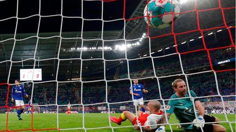 Schalke kassiert das 0 zu 2 bei RB Leipzig