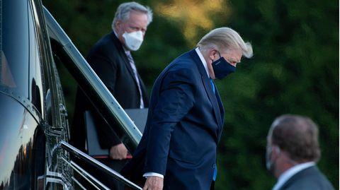 Donald Trump: Angeblich wollte er nicht ins Militärkrankenhaus