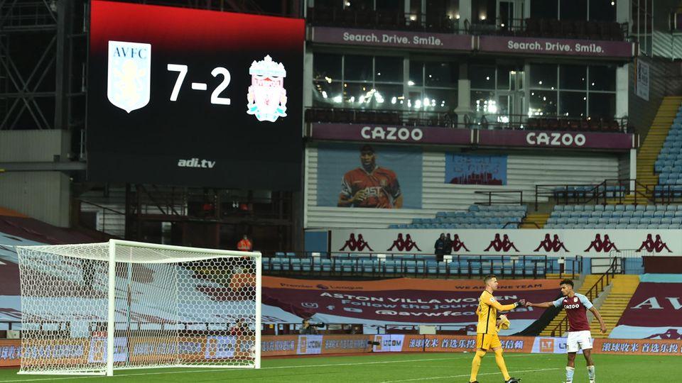 Liverpool 7:2 Niederlage