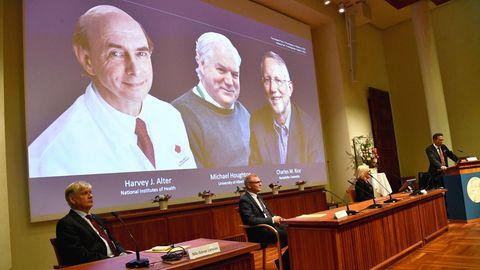 Bekanntgabe des Medizin-Nobelpreises in Stockholm