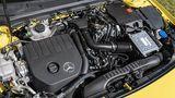 Der Vierzylinder-Turbo leistet 118 kW / 160 PS