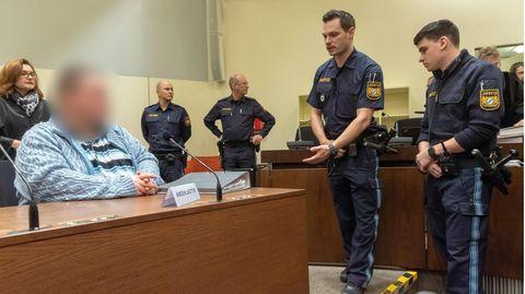 Der Angeklagte Grzegorz Stanislaw W. Ende 2019 im Gericht in München