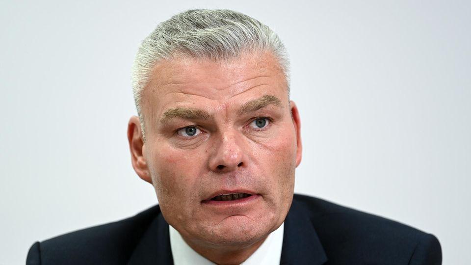 Sachsen-Anhalts Innenminister Holger Stahlknecht (CDU) .
