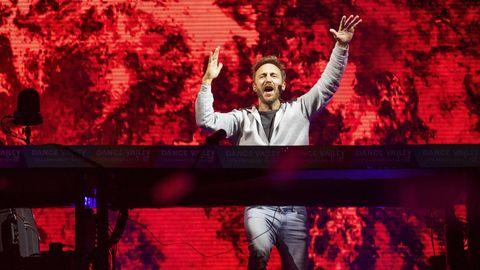 David Guetta legt bei der 25. Ausgabe des Dance Valley in Spaarnwoude auf