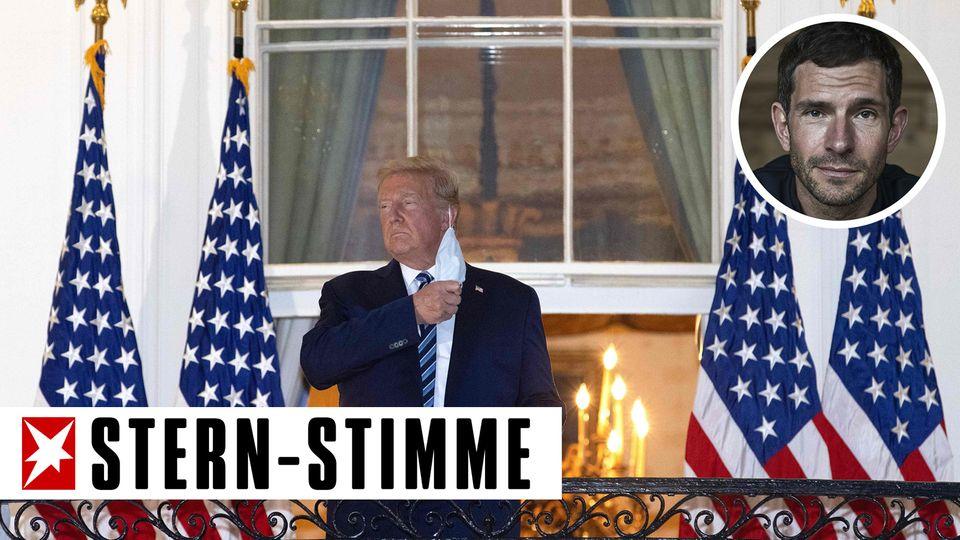 Micky Beisenherz über Donald Trumps Corona-Infektion
