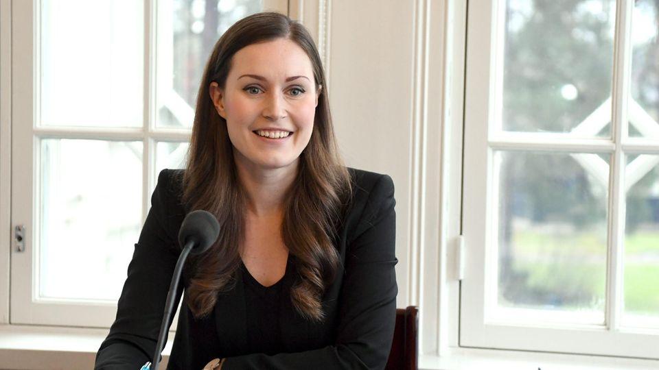 Sanna Marin, Ministerpräsidentin von Finnland