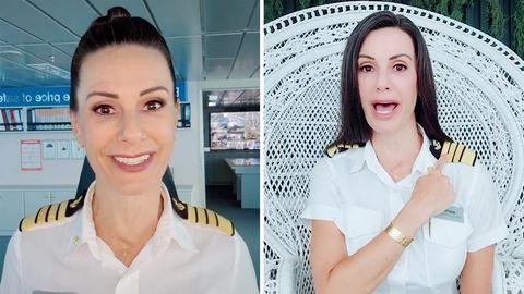 Kapitän reagiert auf sexistischen Kommentar in einem lustigen Video