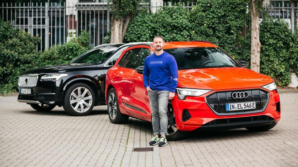 Klare Entscheidung: Philipp Körnig will einen Audi etron