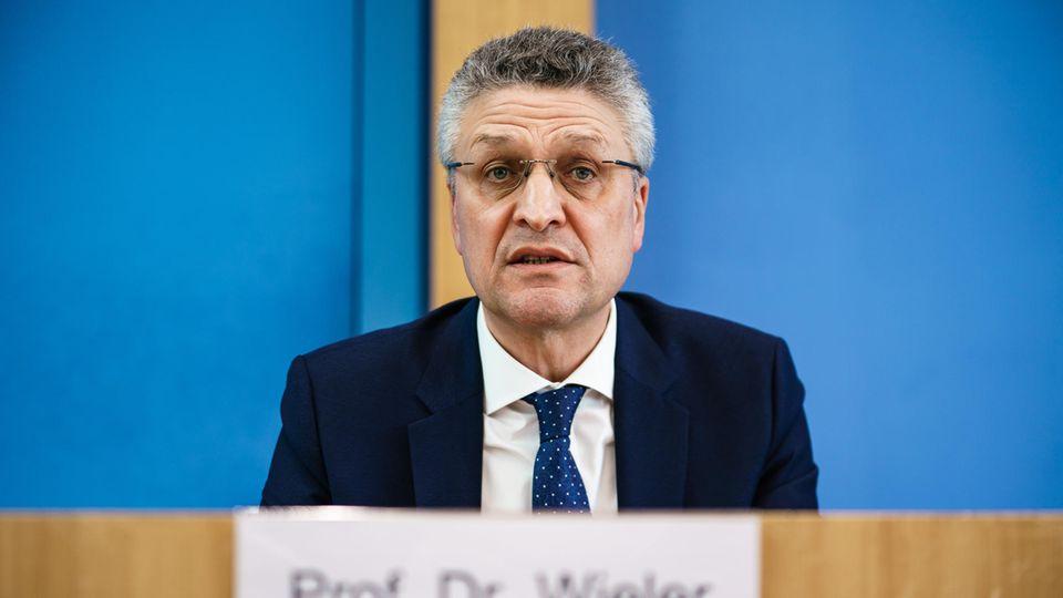Lothar Wieler, Präsident des Robert-Koch-Instituts