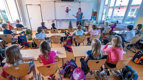 Eine Grundschulklasse