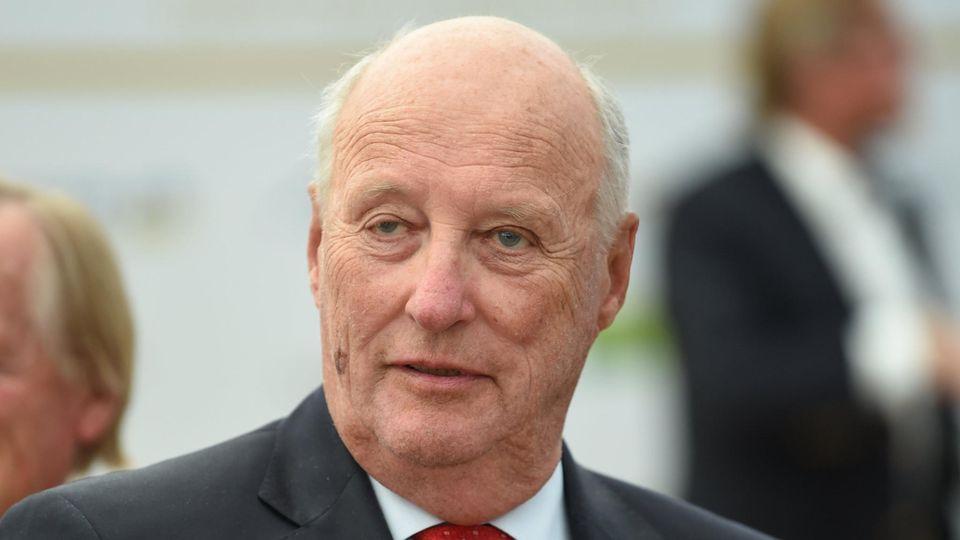 König Harald V. von Norwegen