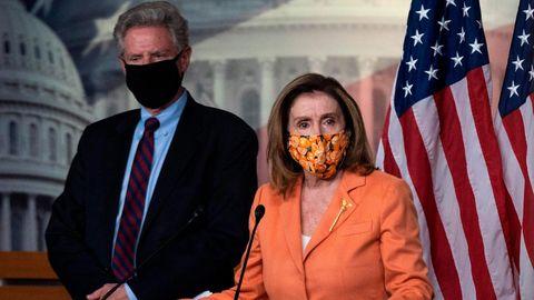 Die Sprecherin des Repräsentantenhauses, Nancy Pelosi