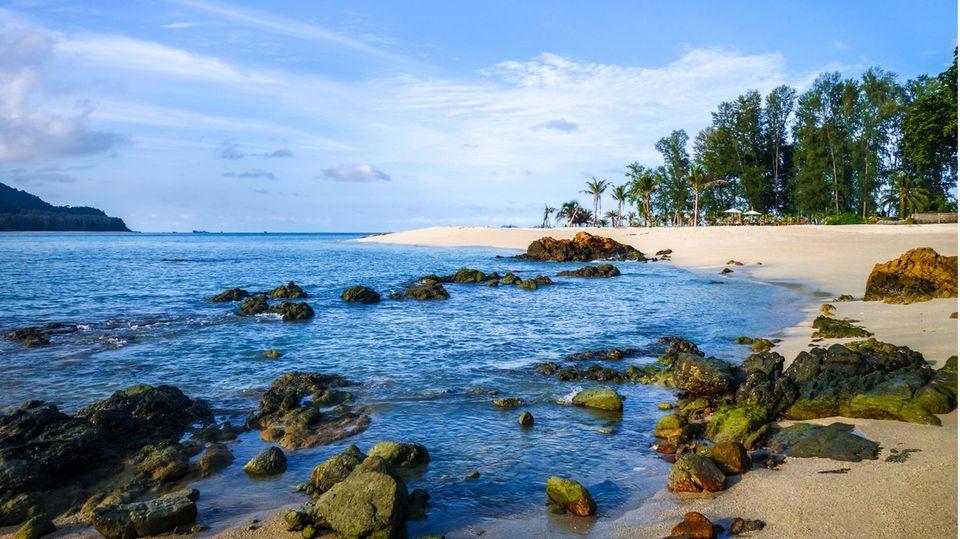Ein Strand in Thailand (Symbolbild)